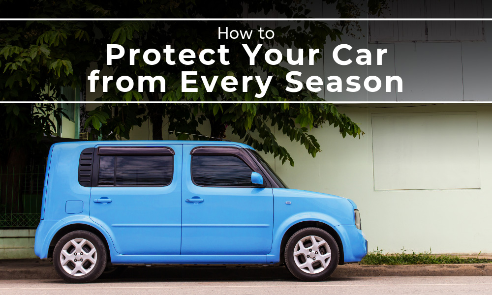 How to Protect Your Car from Weather in Every Season