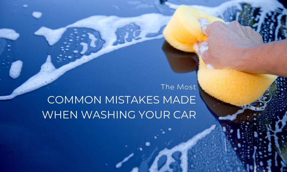 The Most Common Mistakes Made When Washing Your Car